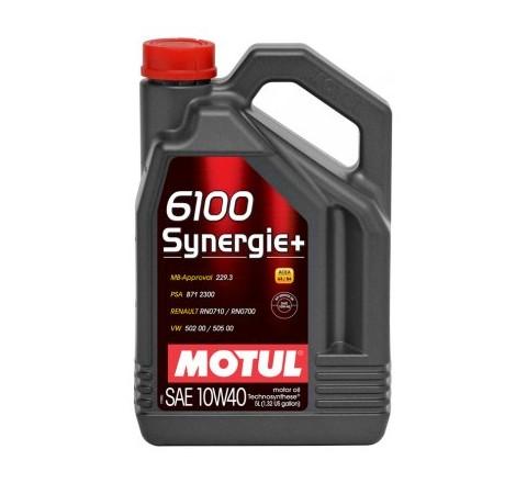 MOTUL 6100 SYNERGIE + 10W40 4L