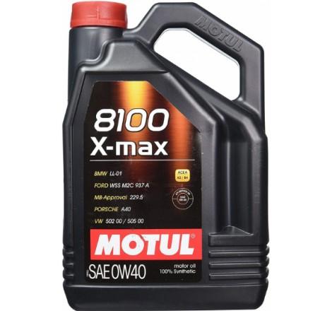 MOTUL 8100 X-MAX 0W40 4L