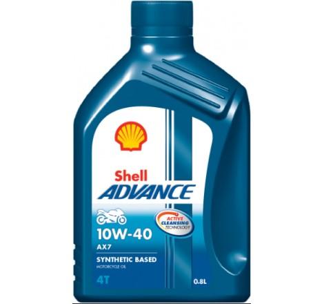 SHELL ADVANCE 4T AX7 10W40 1L