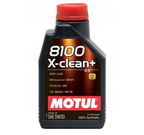 MOTUL 8100 5W30 X-CLEAN+