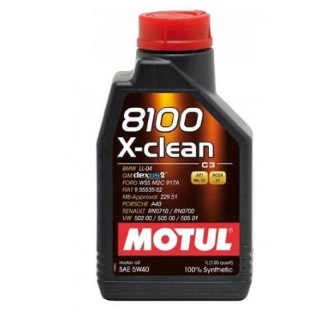 MOTUL 8100 5W40 X-CLEAN 1L