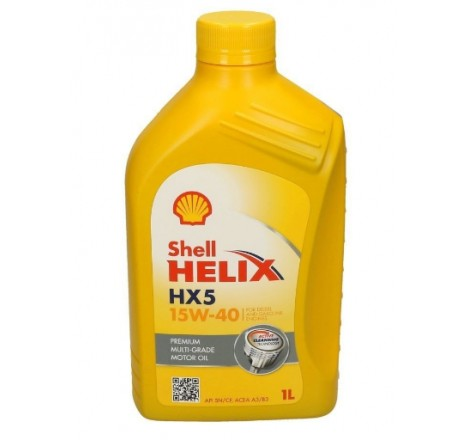 SHELL HELIX 15W40 HX5
