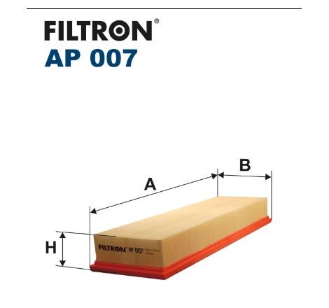 Filtr Powietrza FILTRON AP007