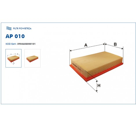 Filtr Powietrza FILTRON AP010