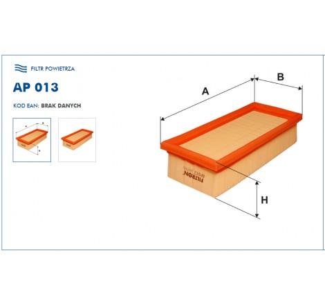 Filtr Powietrza FILTRON AP013