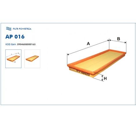 Filtr Powietrza FILTRON AP016