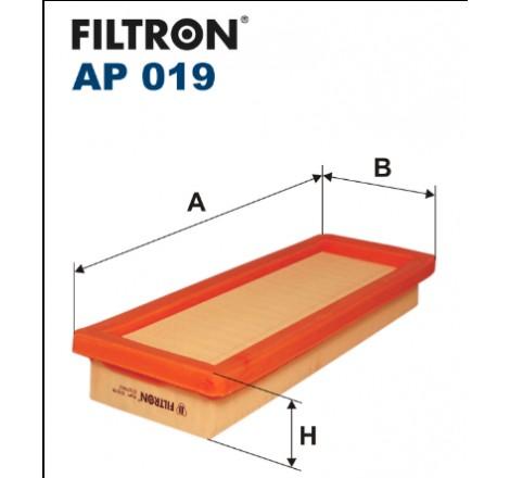 Filtr Powietrza FILTRON AP019
