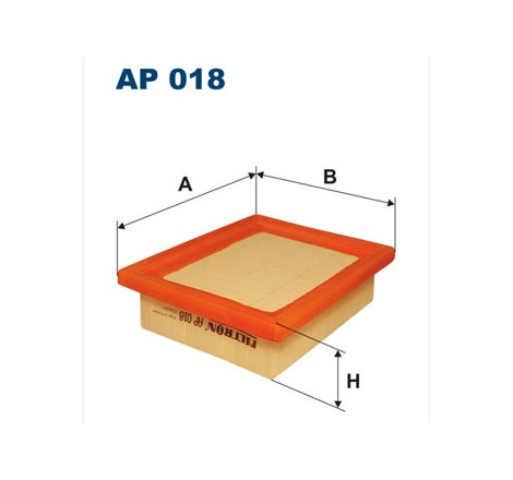 Filtr Powietrza FILTRON AP018