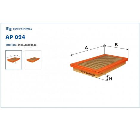 Filtr Powietrza FILTRON AP024
