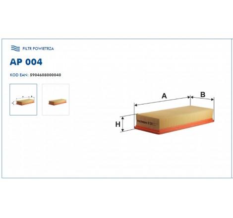 Filtr Powietrza FILTRON AP004