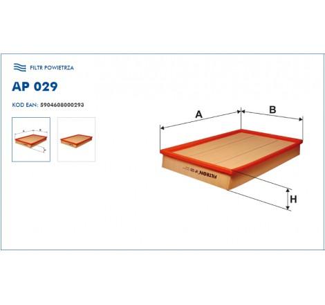 Filtr Powietrza FILTRON AP029
