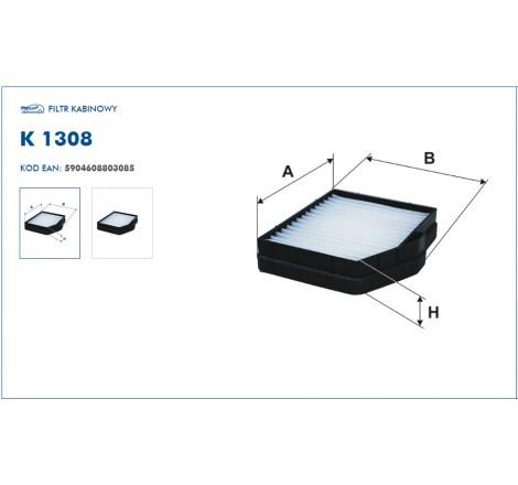Filtr Kabinowy FILTRON K1308