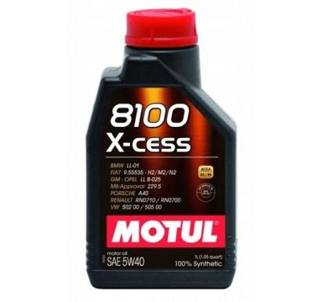 MOTUL 8100 5W40 X-CESS