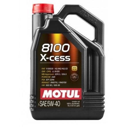 MOTUL 8100 5W40 X-CESS 5L