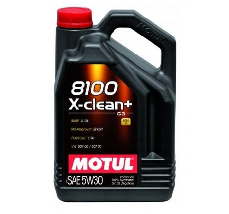 MOTUL 8100 5W30 X-CLEAN+ 5L