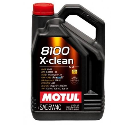 MOTUL 8100 5W40 X-CLEAN 5L