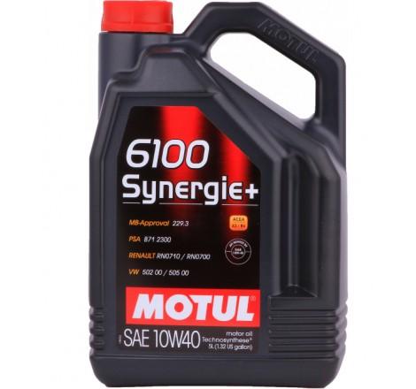 MOTUL 6100 10W40 SYNERGIE+ 5L