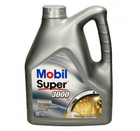 MOBIL SUPER 3000  5W40 X1 4L