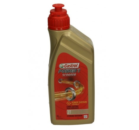 CASTROL 2T POWER-1 SCOOTER 1L