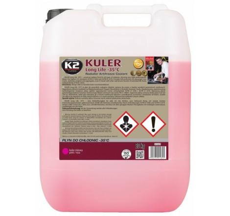 K2 KULER -35°C RÓŻOWY 20 KG